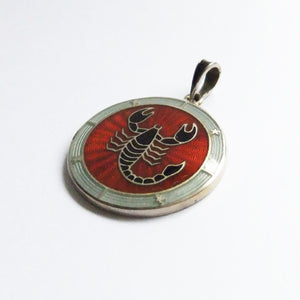 Norwegian David Andersen Scorpio Zodiac Norway Pendant