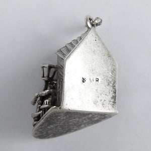 Drunk and Pub Silver Vintage charm