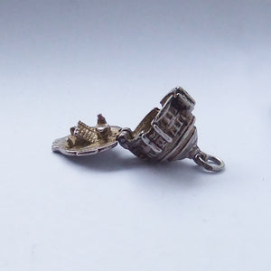 Vintage Silver Opening Royal Albert Hall Charm