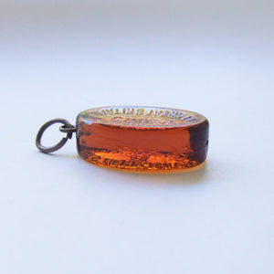 Miniature Glass Bar of Pears Soap Charm