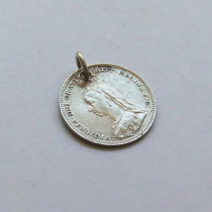 Antique Victorian Love Token Coin Lil