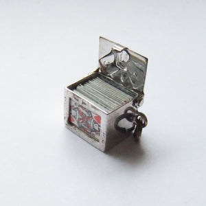 Deck of Cards Charm VINTAGE