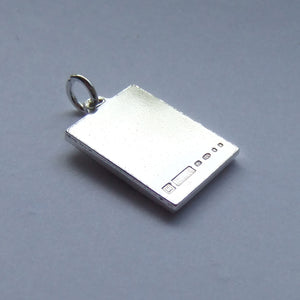 Vintage Silver English Postage Stamp Charm