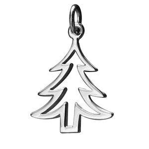 Christmas Tree Outline.Christmas Tree Outline Charm