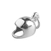 Sterling Silver Crash Helmet Charm