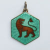 Vintage David Andersen Norway Leo Lion Zodiac Charm