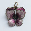 Vintage David Andersen Purple Pansy Flower Charm