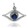 Lucky Evil Eye Charm Sterling Silver or Gold