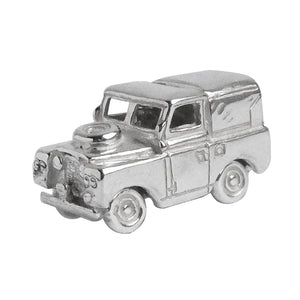 Land Rover 4WD Charm Sterling Silver Vehicle Pendant