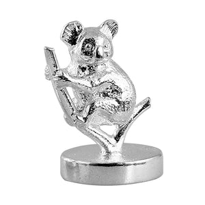 Miniature Australian Koala Model in Sterling Silver or Gold