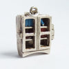 Nuvo Bookcase Charm Sterling Silver Enamel