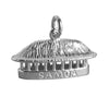 Samoan Fale Hut Charm Sterling Silver or Gold