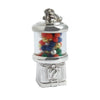 Sterling Silver Gumball Machine Charm