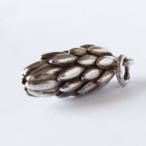 Vintage Sterling Silver Bananas Charm