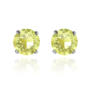 Swarovski Solitaire Earrings | Choice of Colours