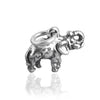 Small Elephant Charm Sterling Silver | Silver Star Charms