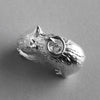 Australian Wombat Charm Sterling Silver or Gold Animal | Silver Star Charms