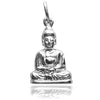 Buddha Rembrandt Charm Sterling Silver or Gold Pendant