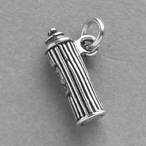 Hairspray Charm Sterling Silver Pendant