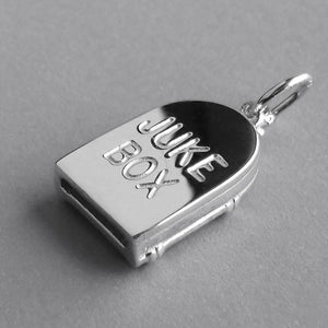 Juke box charm sterling silver 925 or gold pendant