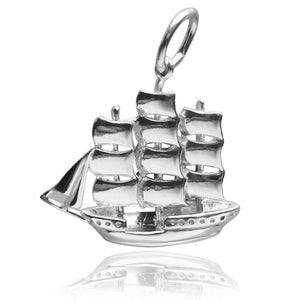 Clipper Ship Charm