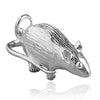 Rat Charm Pendant Sterling Silver or Gold