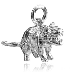 Sterling Silver or Gold Tasmanian Devil Charm