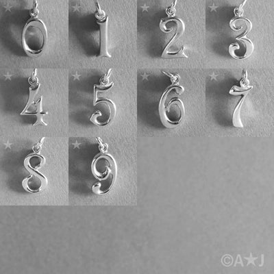 Number Charm 1-100