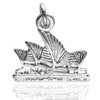 Sydney Opera House charm in sterling silver or gold | Charmarama