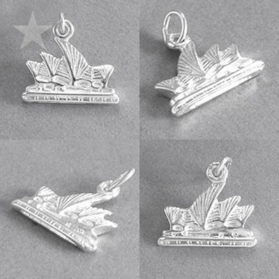 Sydney Opera House charm 925 sterling silver or gold