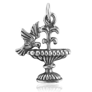 Bird Bath Fountain Charm