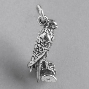 Sterling Silver Eagle Bird Charm Pendant