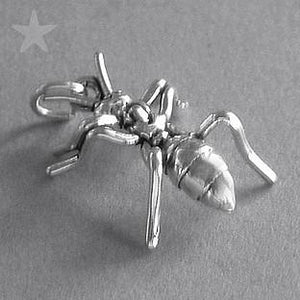 Sterling Silver Ant Pendant