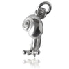 Snail Charm in Sterling Silver or Gold