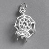 Spider in Web Charm