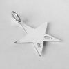Sterling Silver or Gold Star Charm Pendant