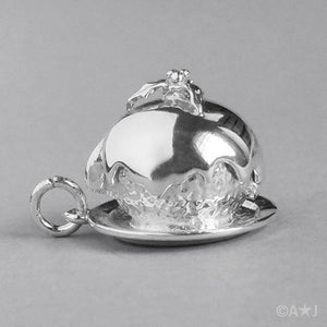 Christmas Plum Pudding Charm