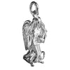 Angel Charm with Moving Wings | Silver Star Charms
