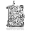 Holy Bible Charm Opening Sterling Silver or Gold Pendant