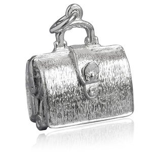 Opening Briefcase Charm Opens to Briefs Lingerie