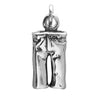 Pair of Jeans Charm Sterling Silver Pants Pendant