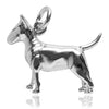 Bull Terrier Dog Charm | Silver Star Charms