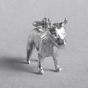 Australian Cattle Dog Charm Sterling Silver or Gold Pendant