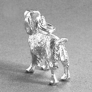 Sterling Silver Springer Spaniel Dog Charm