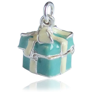 Gift of Love Blue Box Charm