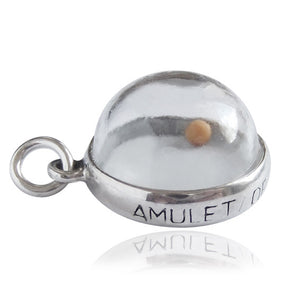 Mustard Seed Amulet of Faith Charm