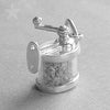 Sterling Silver Pencil Sharpener Charm Pendant