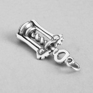 Sterling Silver Bottle Opener Charm