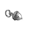 Acorn Charm Sterling Silver Nature Pendant | Silver Star Charms