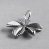 Sterling Silver Lucky Four Leaf Clover Charm